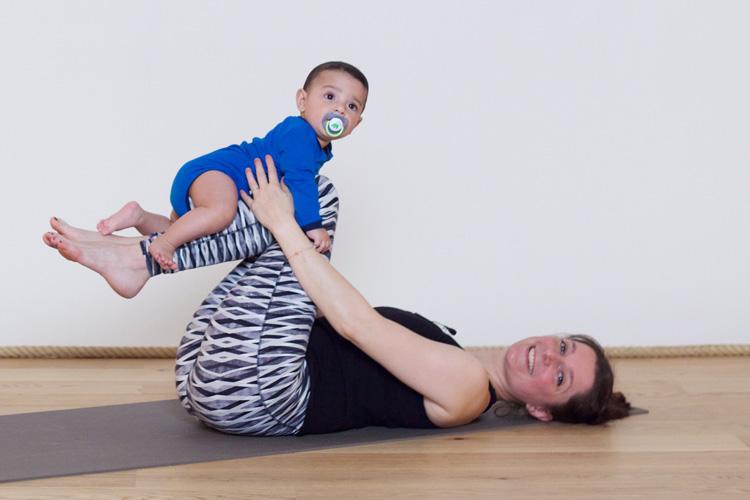 gym douce après accouchement